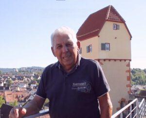"""Peter Nagel rezitiert das Gedicht """"Hoamet"""" von Josef Eberle"""